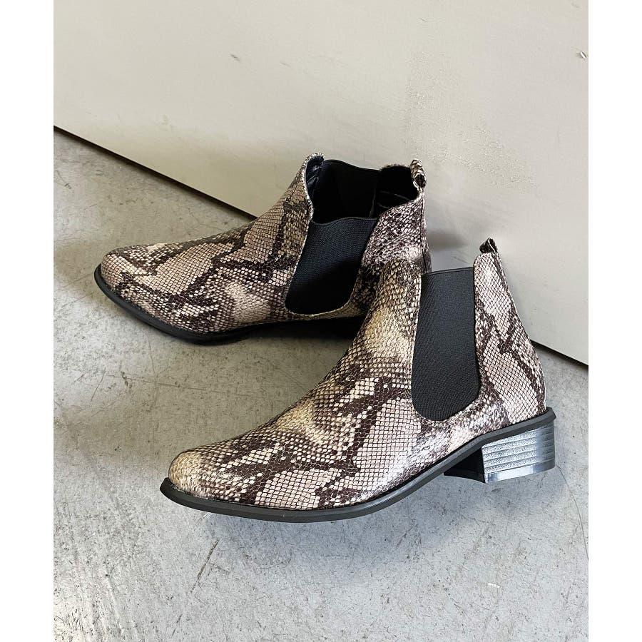 秋新作 サイドゴアブーツ シューズ 靴 レディース ブーツ サイドゴア 春靴 5