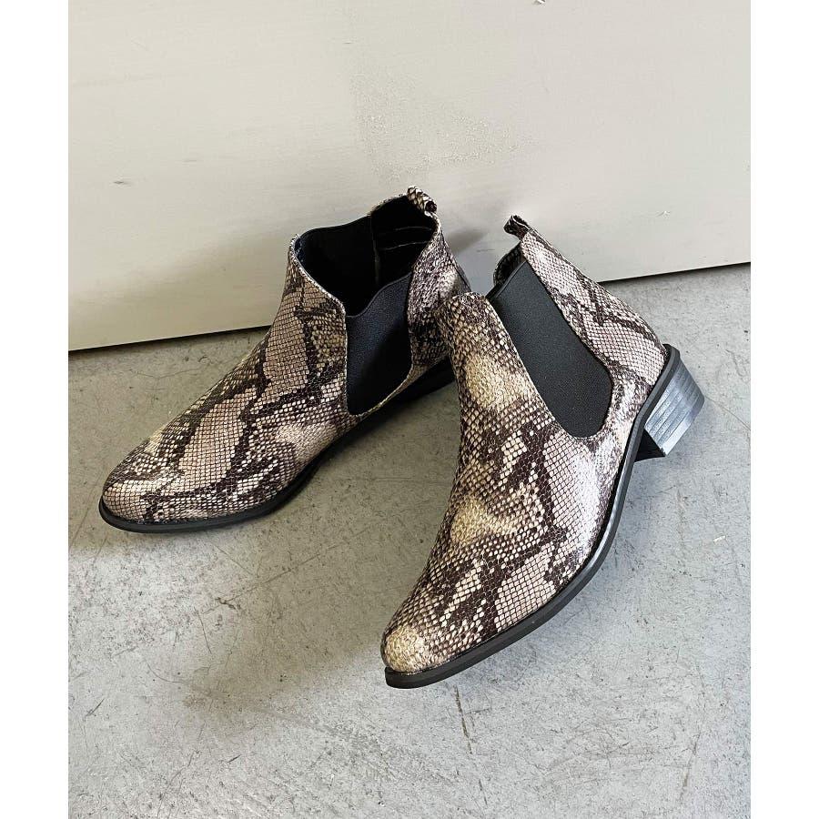 秋新作 サイドゴアブーツ シューズ 靴 レディース ブーツ サイドゴア 春靴 6