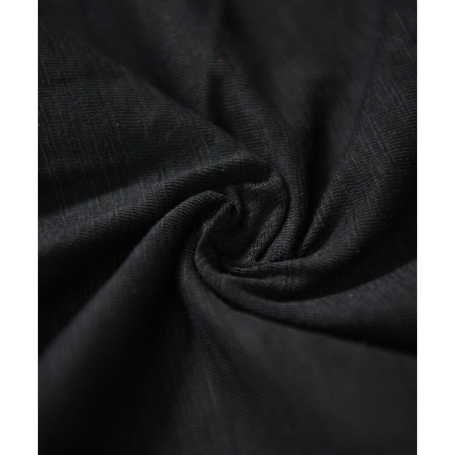 秋新作 スリットスリーブカットソー ma アパレル トップス カットソー シンプル ベーシック スリット 袖コンシャス Uネックホワイト ブラック レディース 6