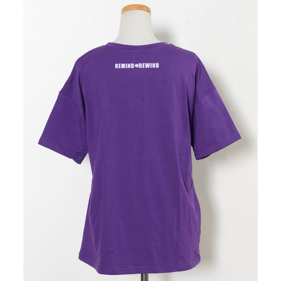 秋新作 BIGボックスロゴTシャツ ma トップス レディース Tシャツ ロゴT ビッグサイズ オーバーサイズ シンプル 5