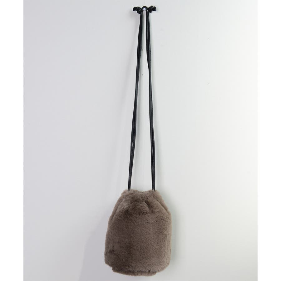 冬新作 ファーショルダーバッグ 鞄 バッグ ショルダー ミニバッグ ファー ファーバッグ レディース 韓国ファッション 8