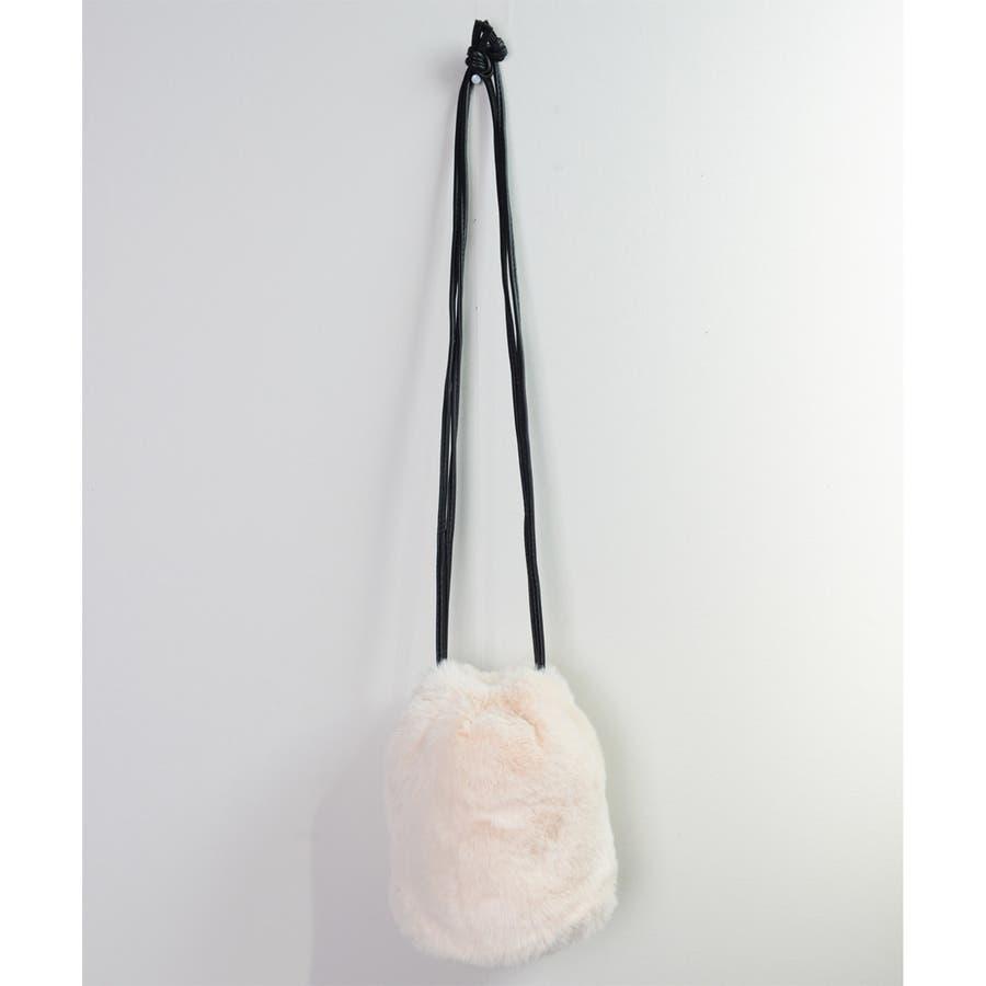 冬新作 ファーショルダーバッグ 鞄 バッグ ショルダー ミニバッグ ファー ファーバッグ レディース 韓国ファッション 16
