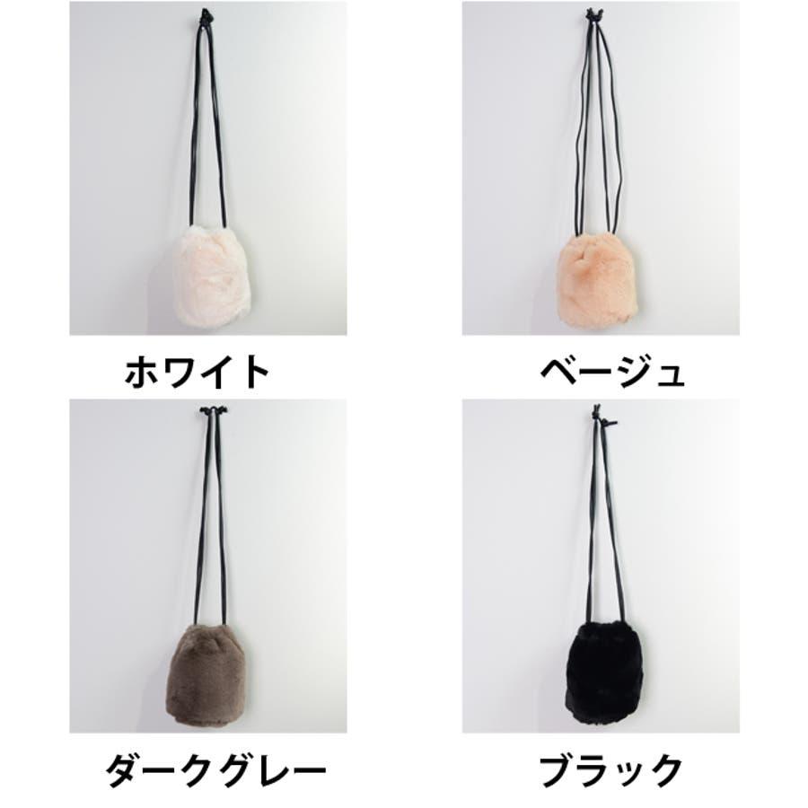 冬新作 ファーショルダーバッグ 鞄 バッグ ショルダー ミニバッグ ファー ファーバッグ レディース 韓国ファッション 2