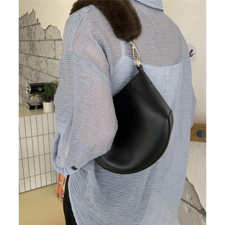 春新作 ファーハンドルバッグ 鞄 6