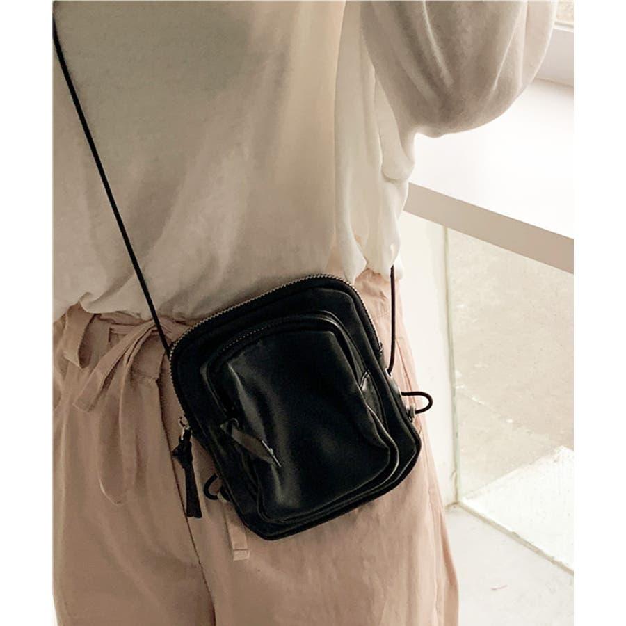 冬新作 レザー調ミニポシェット バッグ 鞄 ポシェット ショルダー ミニ レザー調 シンプル ミニバッグ レディース韓国ファッション 21
