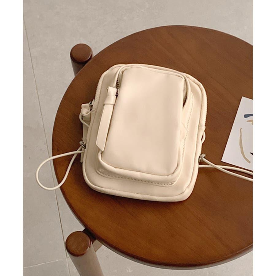 冬新作 レザー調ミニポシェット バッグ 鞄 ポシェット ショルダー ミニ レザー調 シンプル ミニバッグ レディース韓国ファッション 16