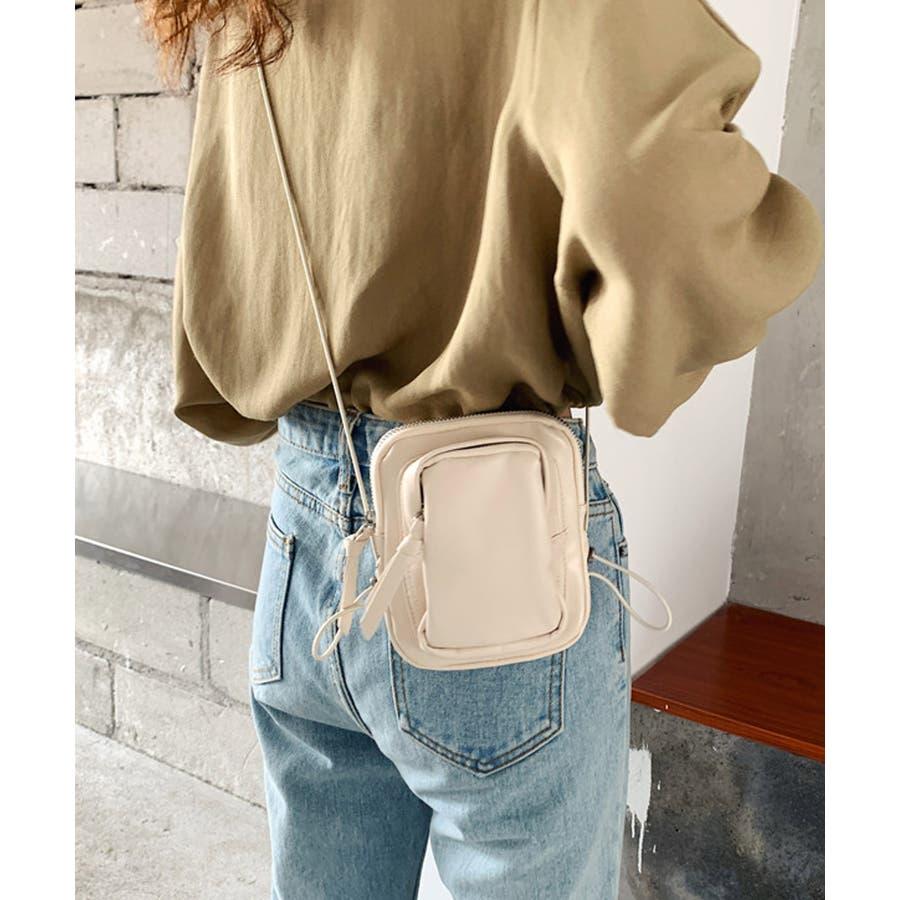 冬新作 レザー調ミニポシェット バッグ 鞄 ポシェット ショルダー ミニ レザー調 シンプル ミニバッグ レディース韓国ファッション 8