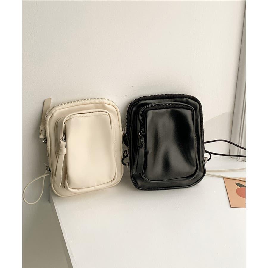 冬新作 レザー調ミニポシェット バッグ 鞄 ポシェット ショルダー ミニ レザー調 シンプル ミニバッグ レディース韓国ファッション 9