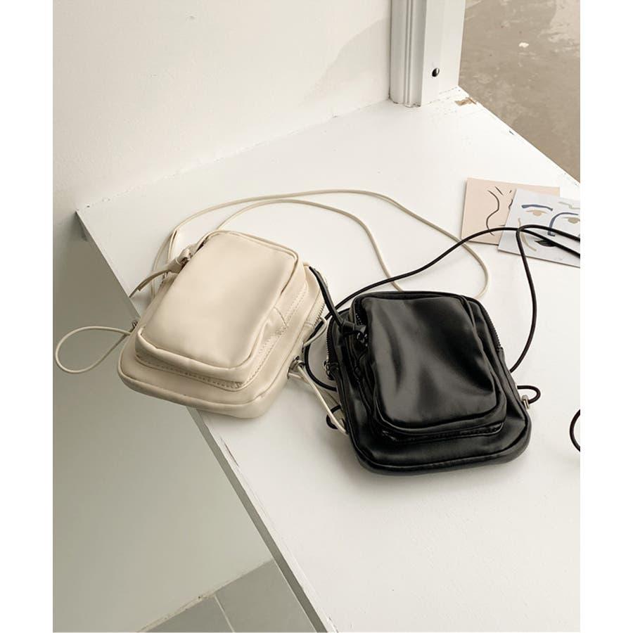 冬新作 レザー調ミニポシェット バッグ 鞄 ポシェット ショルダー ミニ レザー調 シンプル ミニバッグ レディース韓国ファッション 10