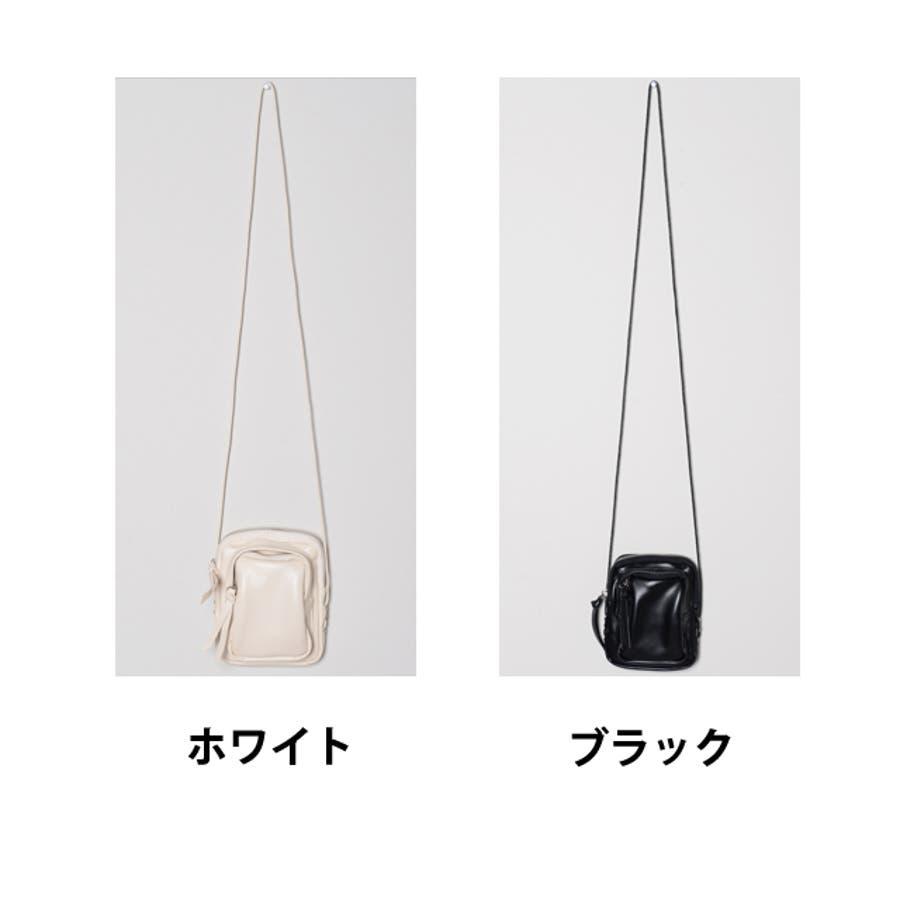 冬新作 レザー調ミニポシェット バッグ 鞄 ポシェット ショルダー ミニ レザー調 シンプル ミニバッグ レディース韓国ファッション 2