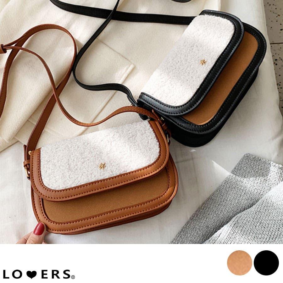 冬新作 ボアミニショルダーバッグ バッグ 鞄 ショルダー ボア ファー エコファー レディース 韓国ファッション 1