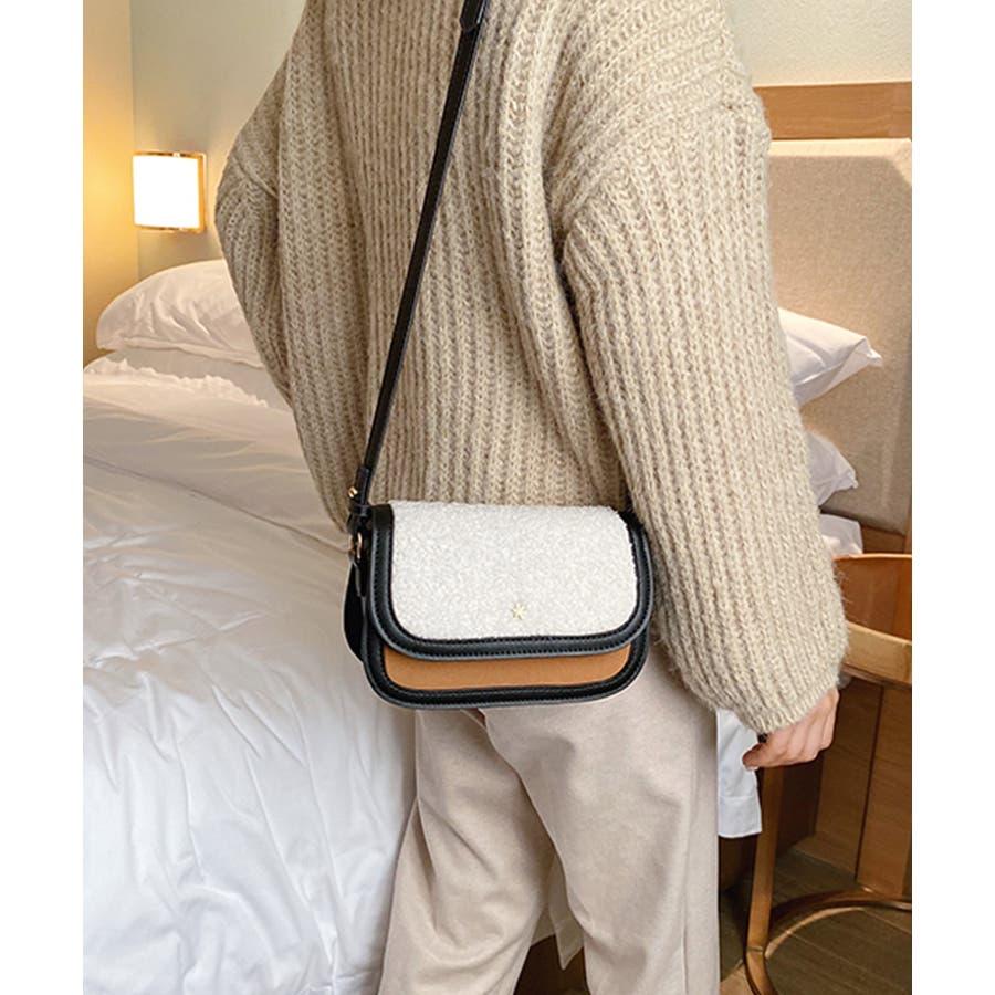 冬新作 ボアミニショルダーバッグ バッグ 鞄 ショルダー ボア ファー エコファー レディース 韓国ファッション 6