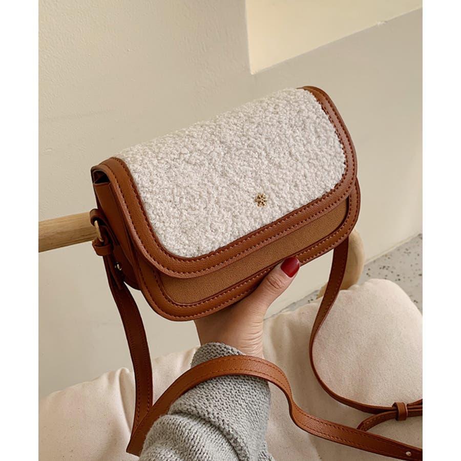 冬新作 ボアミニショルダーバッグ バッグ 鞄 ショルダー ボア ファー エコファー レディース 韓国ファッション 29