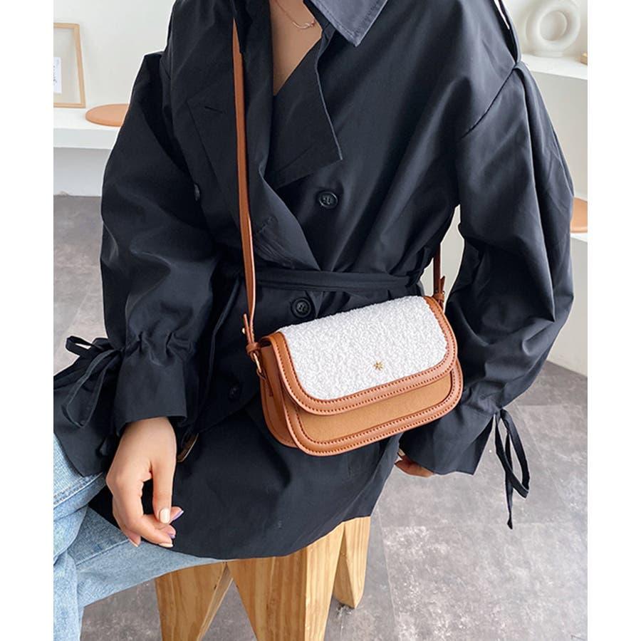冬新作 ボアミニショルダーバッグ バッグ 鞄 ショルダー ボア ファー エコファー レディース 韓国ファッション 8