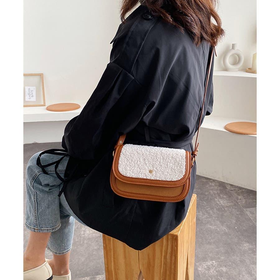 冬新作 ボアミニショルダーバッグ バッグ 鞄 ショルダー ボア ファー エコファー レディース 韓国ファッション 9
