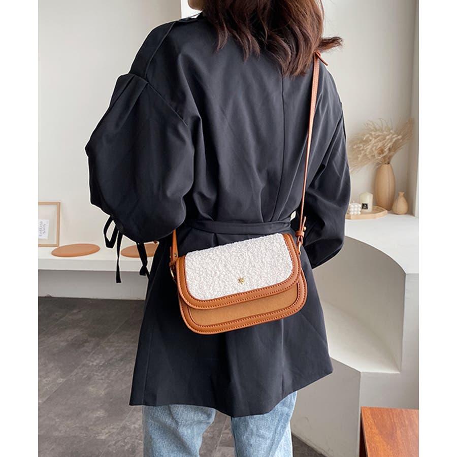 冬新作 ボアミニショルダーバッグ バッグ 鞄 ショルダー ボア ファー エコファー レディース 韓国ファッション 10