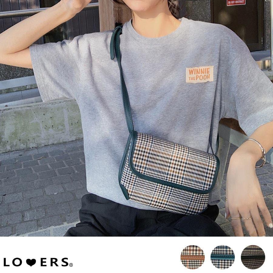 秋新作 グレンチェックマルチバッグ バッグ ショルダー ウエスト サコッシュ グレンチェック コンパクト ミニバッグ 鞄トレンドレディース 韓国ファッション 1
