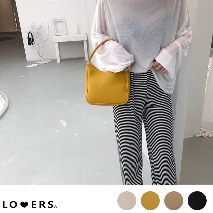 秋新作 ワンハンドルシンプルバッグ バッグ 鞄 ハンド ワンハンドル 上品 シンプル レディース 韓国ファッション 1