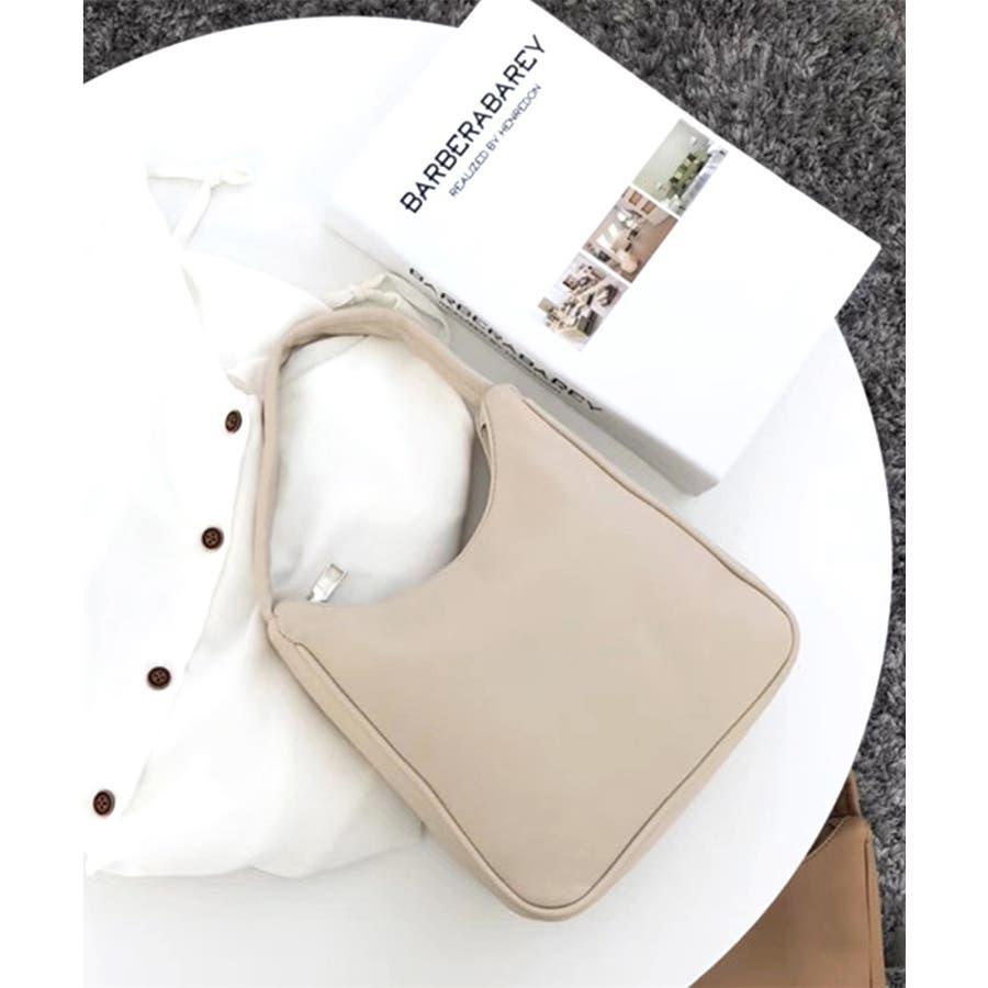 秋新作 ワンハンドルシンプルバッグ バッグ 鞄 ハンド ワンハンドル 上品 シンプル レディース 韓国ファッション 18