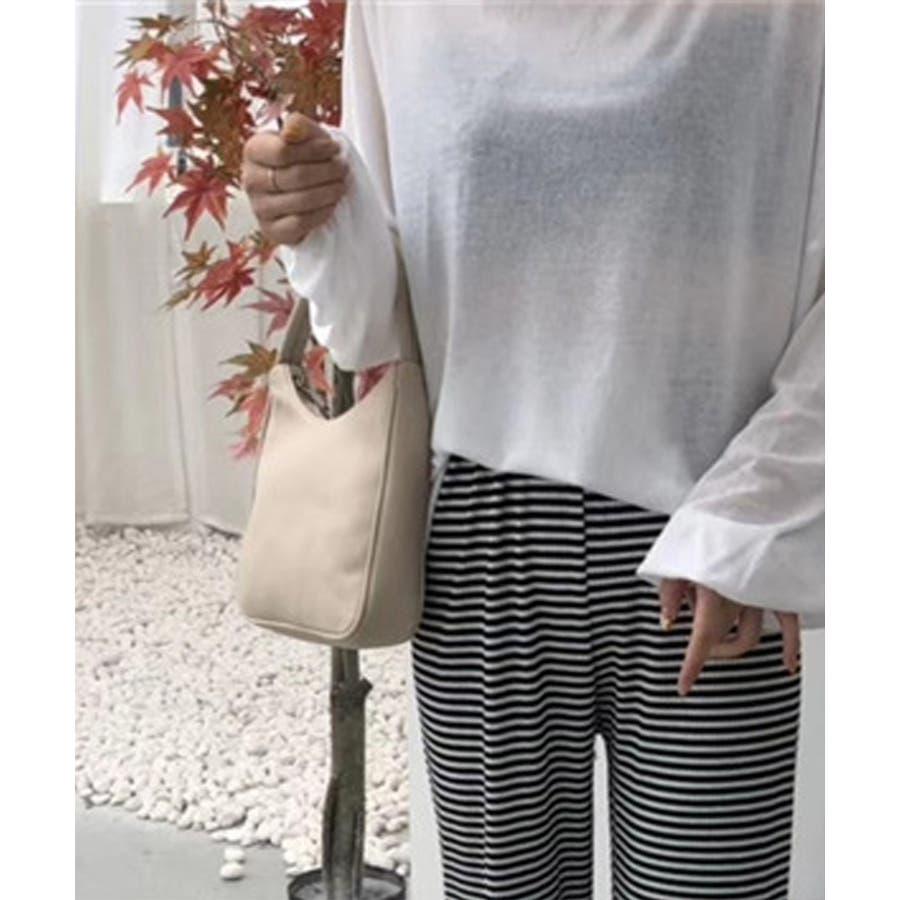 秋新作 ワンハンドルシンプルバッグ バッグ 鞄 ハンド ワンハンドル 上品 シンプル レディース 韓国ファッション 5