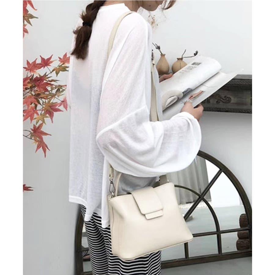 秋新作 レザー調スクエアバッグ バッグ 鞄 ショルダー スクエア ハンド レザー調 シンプル レディース 韓国ファッション 16