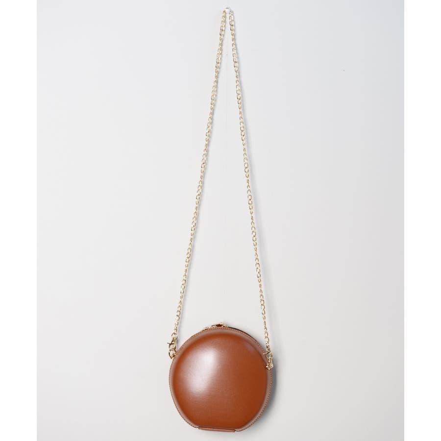 秋新作 サークルチェーンバッグ 鞄 バッグ ショルダー チェーン シンプル コンパクト ミニバッグ 上品 レディース 韓国ファッション 10