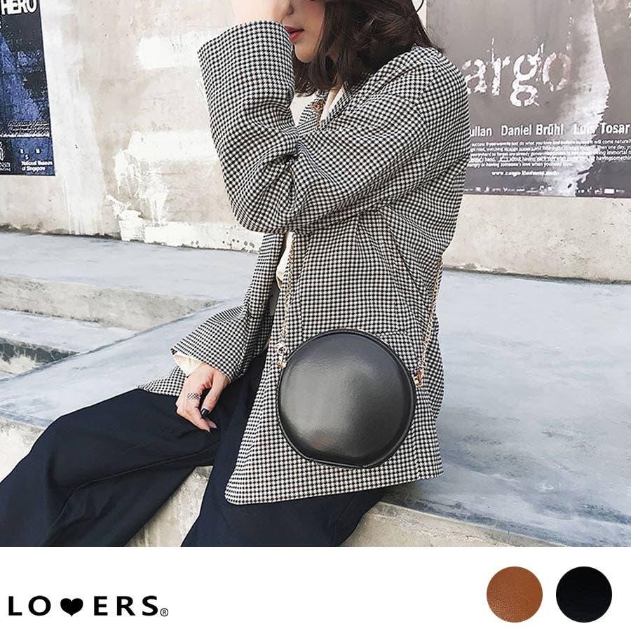 秋新作 サークルチェーンバッグ 鞄 バッグ ショルダー チェーン シンプル コンパクト ミニバッグ 上品 レディース 韓国ファッション 1