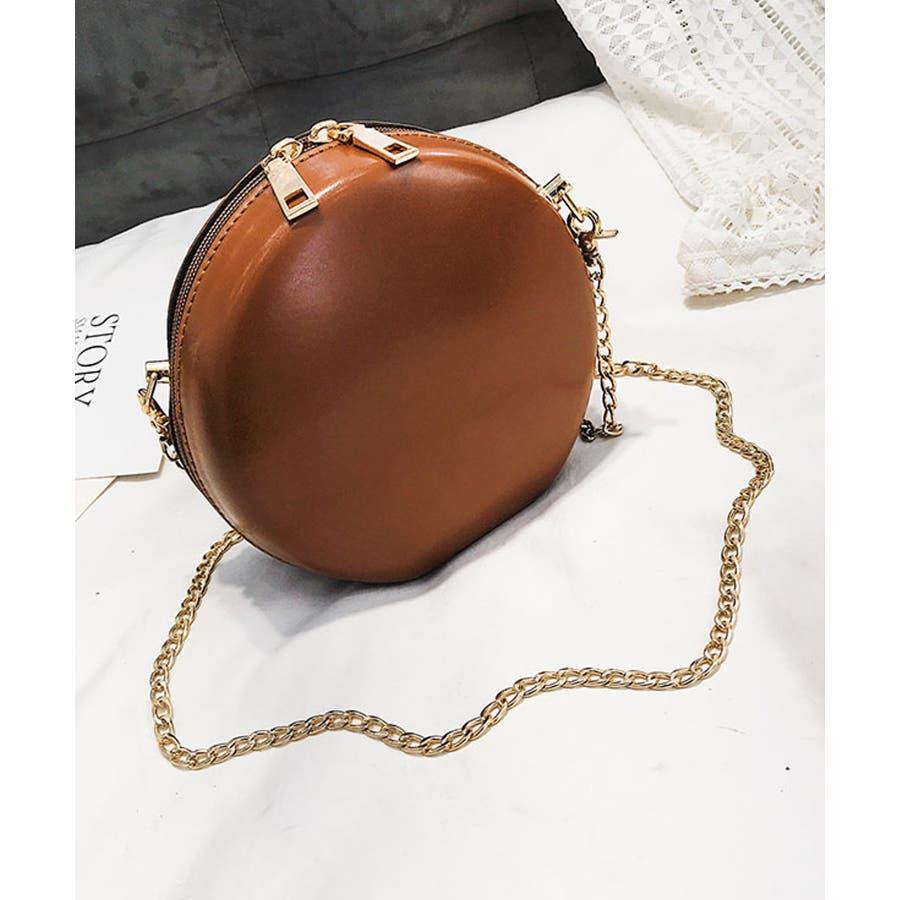 秋新作 サークルチェーンバッグ 鞄 バッグ ショルダー チェーン シンプル コンパクト ミニバッグ 上品 レディース 韓国ファッション 33