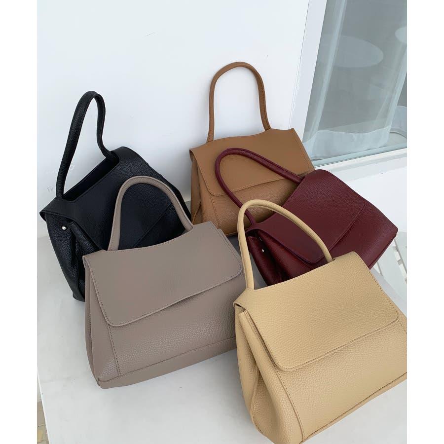 秋新作 3wayシンプルバッグ バッグ ショルダー ハンド 鞄 3way 大容量 上品 大人 シンプル カジュアルレディース韓国ファッション 8