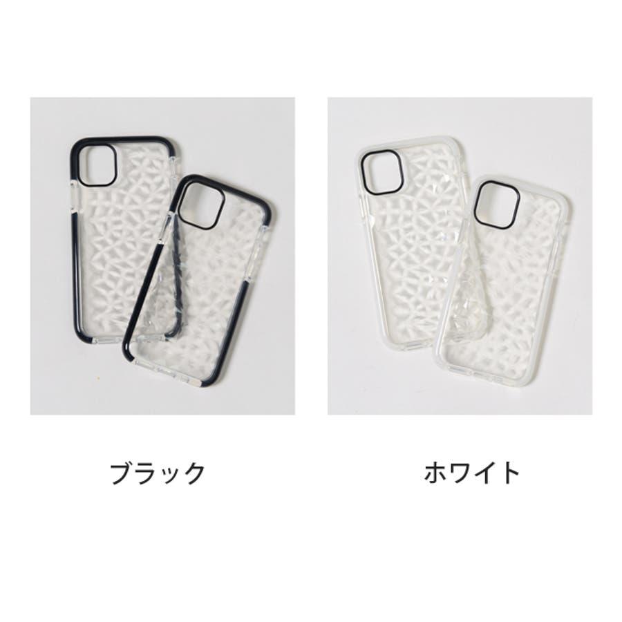 冬新作 クリアスマホケース ma 小物 スマホケース iPhone11 クリア ケース レディース 韓国ファッション 2
