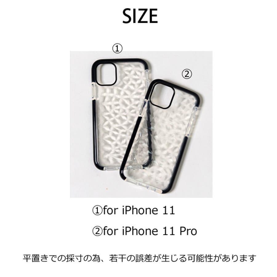 冬新作 クリアスマホケース ma 小物 スマホケース iPhone11 クリア ケース レディース 韓国ファッション 3