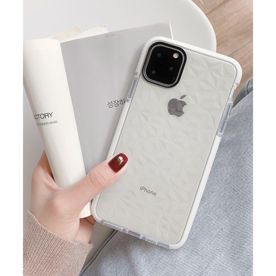 冬新作 クリアスマホケース ma 小物 スマホケース iPhone11 クリア ケース レディース 韓国ファッション 16