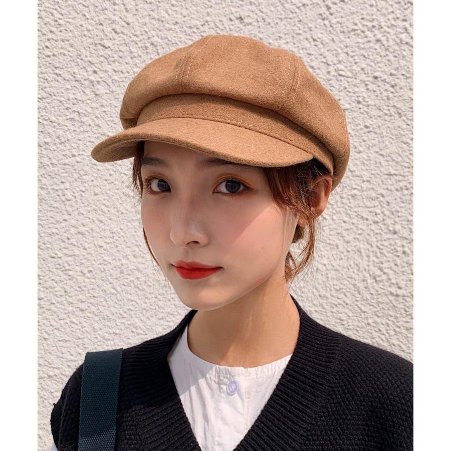 冬新作 キャスケット 帽子 ハット キャスケット カジュアル フェミニン シンプル 上品 レディース 韓国ファッション 29
