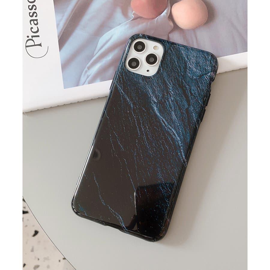 秋新作 岩石柄スマホケース 小物 スマホケース iPhone 7 11 X XS ハート シリコン ソフト レディース韓国ファッション 6