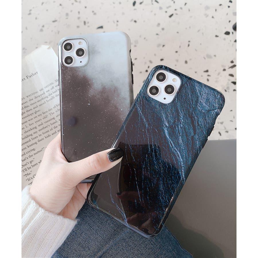 秋新作 岩石柄スマホケース 小物 スマホケース iPhone 7 11 X XS ハート シリコン ソフト レディース韓国ファッション 7