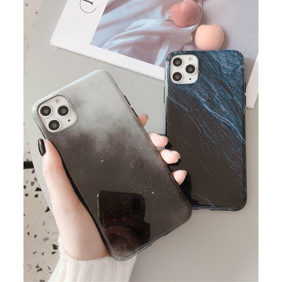 秋新作 岩石柄スマホケース 小物 スマホケース iPhone 7 11 X XS ハート シリコン ソフト レディース韓国ファッション 8