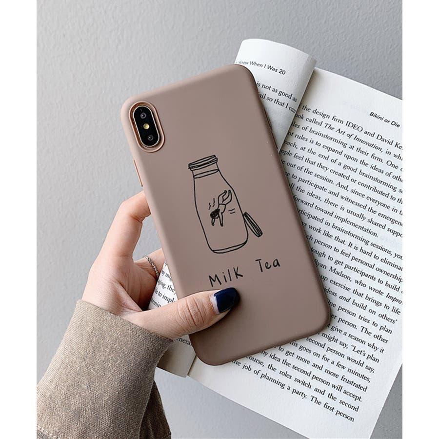 秋新作 シリコンスマホケース 小物 スマホ ケース タピオカ シンプル ベイクドカラー iPhone レディース 韓国ファッション 5