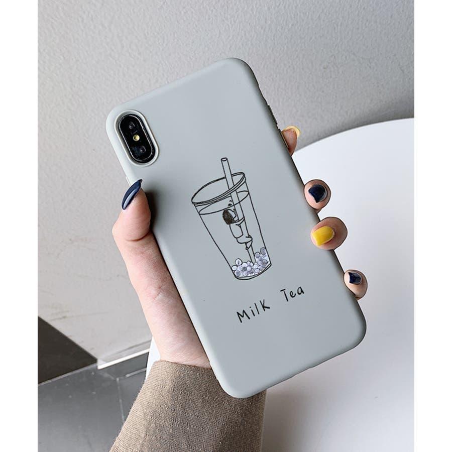 秋新作 シリコンスマホケース 小物 スマホ ケース タピオカ シンプル ベイクドカラー iPhone レディース 韓国ファッション 6