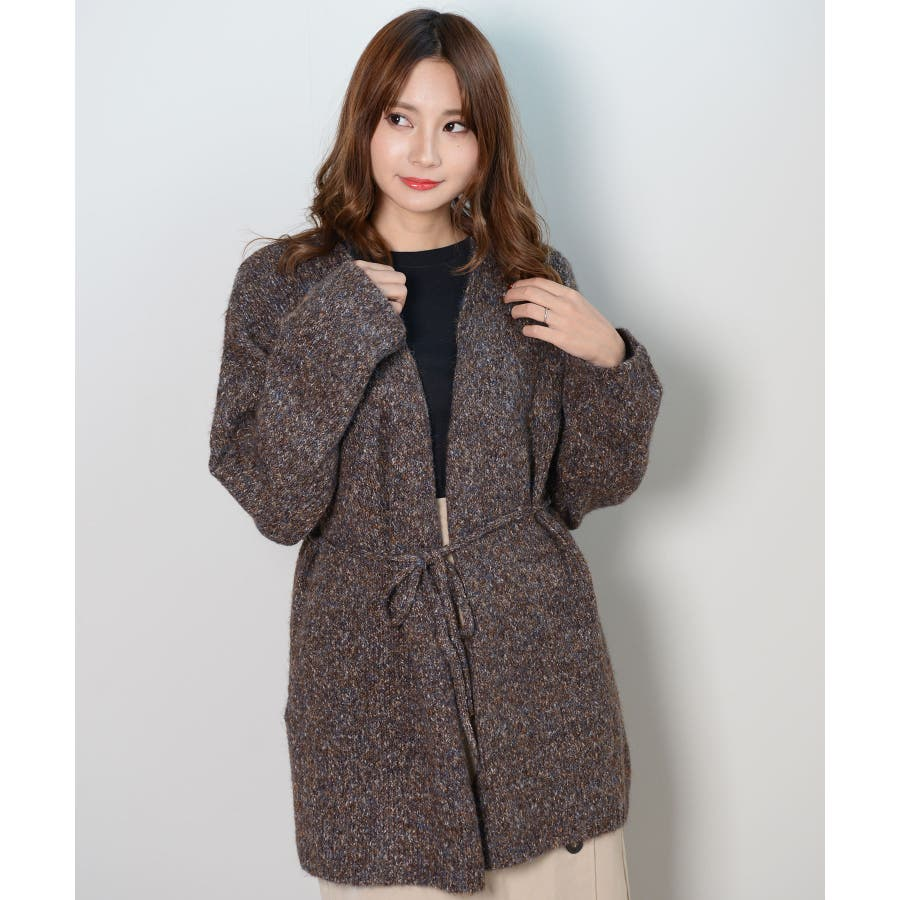 冬新作 カシュクールカーディガン トップス カーディガン カシュクール アウター 羽織 ニット レディース 韓国ファッション 29