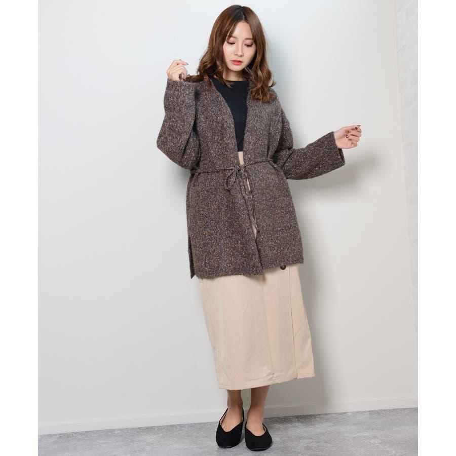 冬新作 カシュクールカーディガン トップス カーディガン カシュクール アウター 羽織 ニット レディース 韓国ファッション 5