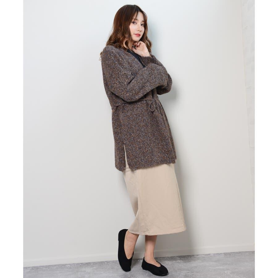 冬新作 カシュクールカーディガン トップス カーディガン カシュクール アウター 羽織 ニット レディース 韓国ファッション 6