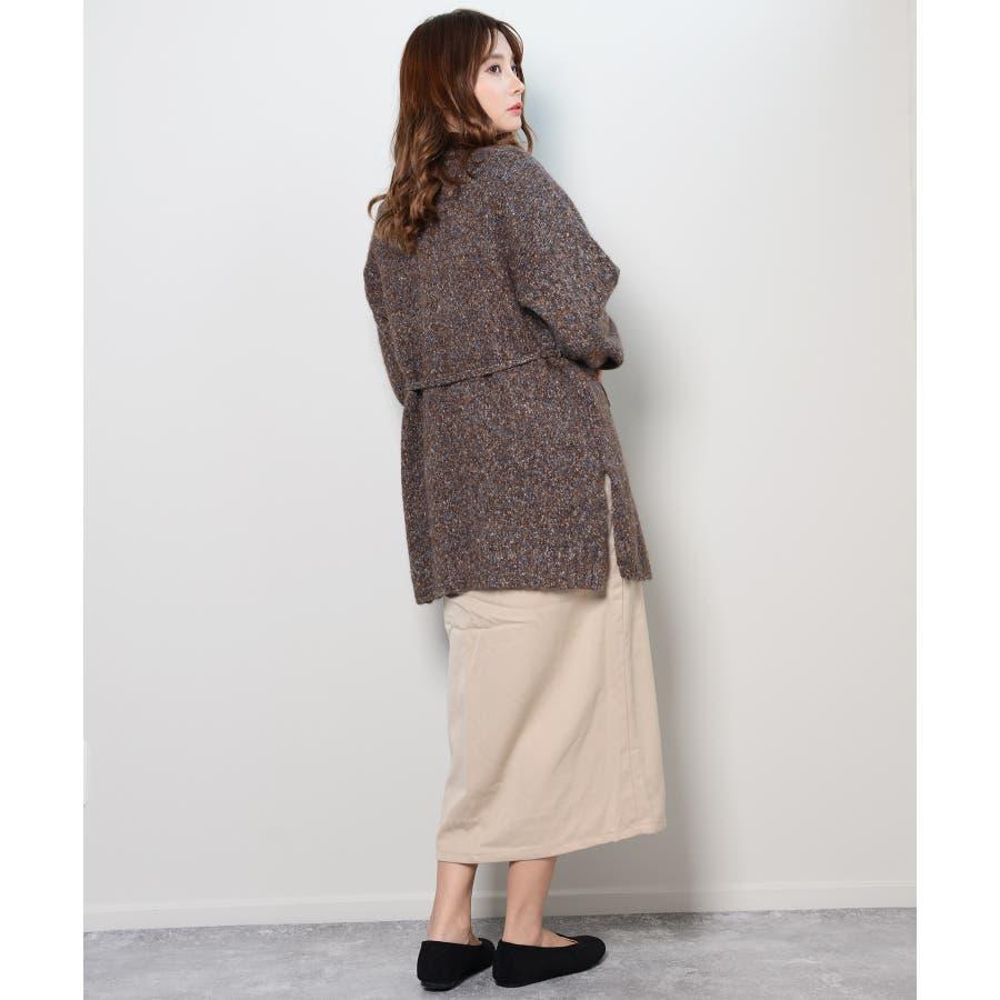 冬新作 カシュクールカーディガン トップス カーディガン カシュクール アウター 羽織 ニット レディース 韓国ファッション 7