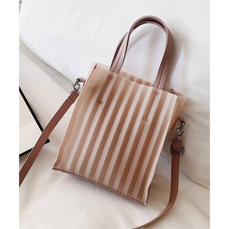 春新作 プリーツバッグ 鞄 2