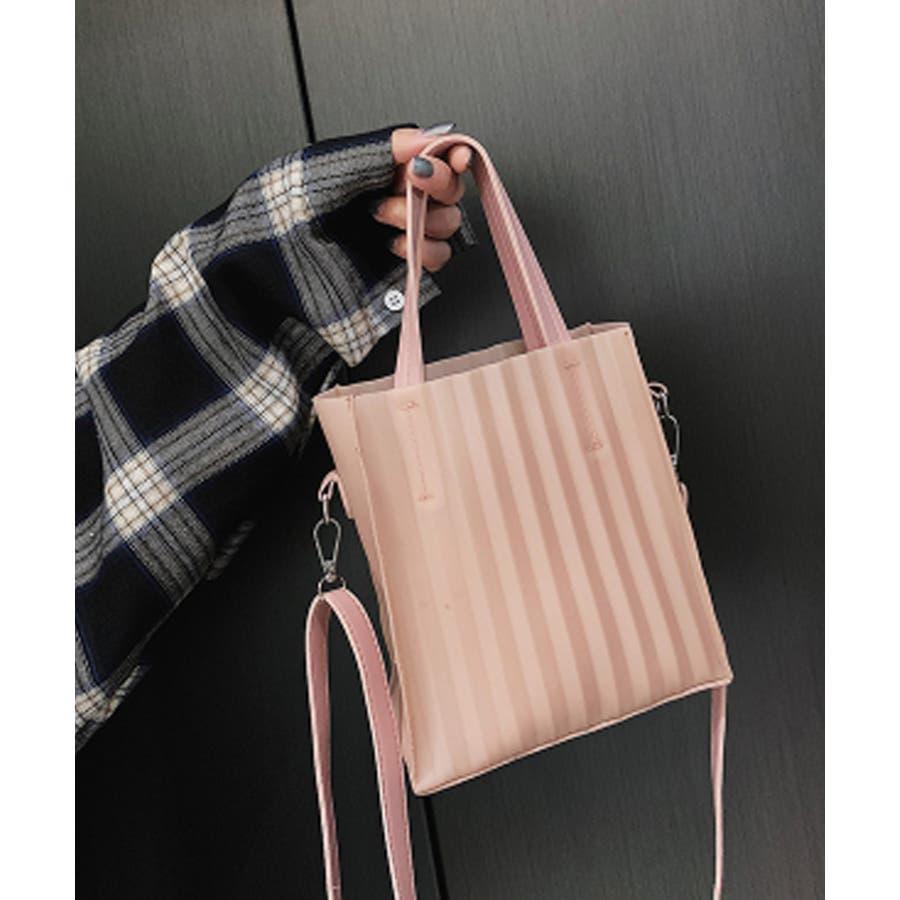 春新作 プリーツバッグ 鞄 3