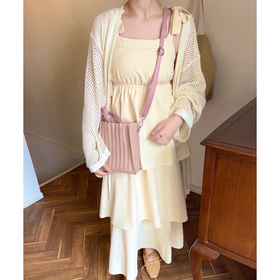 春新作 プリーツバッグ 鞄 87
