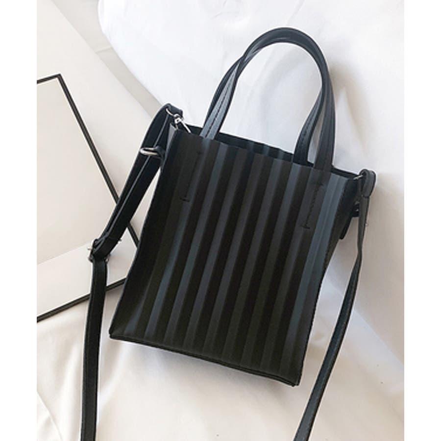 春新作 プリーツバッグ 鞄 21