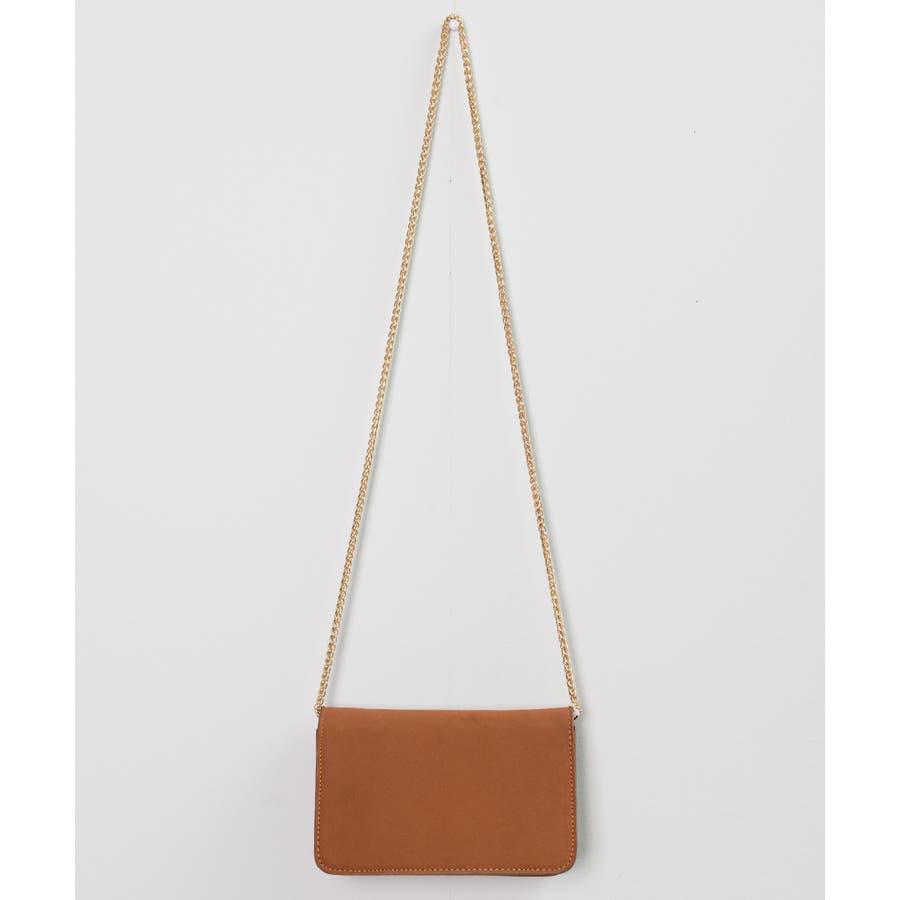 秋新作 パールショルダーバッグ 鞄 バッグ ショルダー チェーン パール 上品 カジュアル シンプル コンパクト 韓国ファッションレディース 5