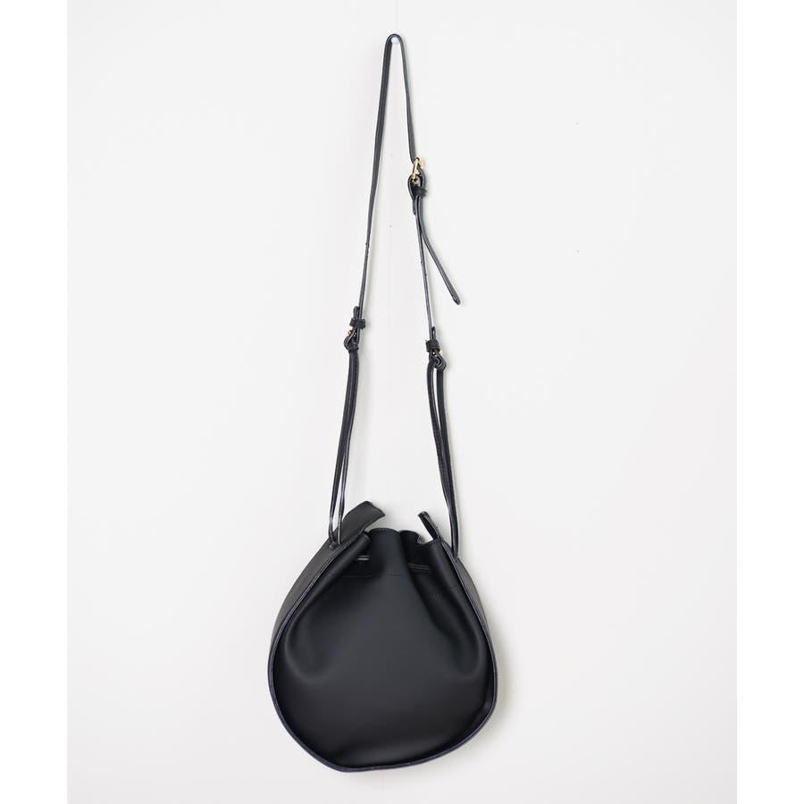 秋新作 2wayPUハンドバッグ バッグ 鞄 2wayPU ショルダー レザー調 PU ラウンド サークル ハンド シンプルコンパクト韓国ファッション レディース 7