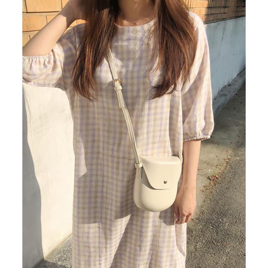 秋新作 レザー調ミニポシェット バッグ 鞄 ショルダー ポシェット レザー調 シンプル レディース 韓国ファッション 7