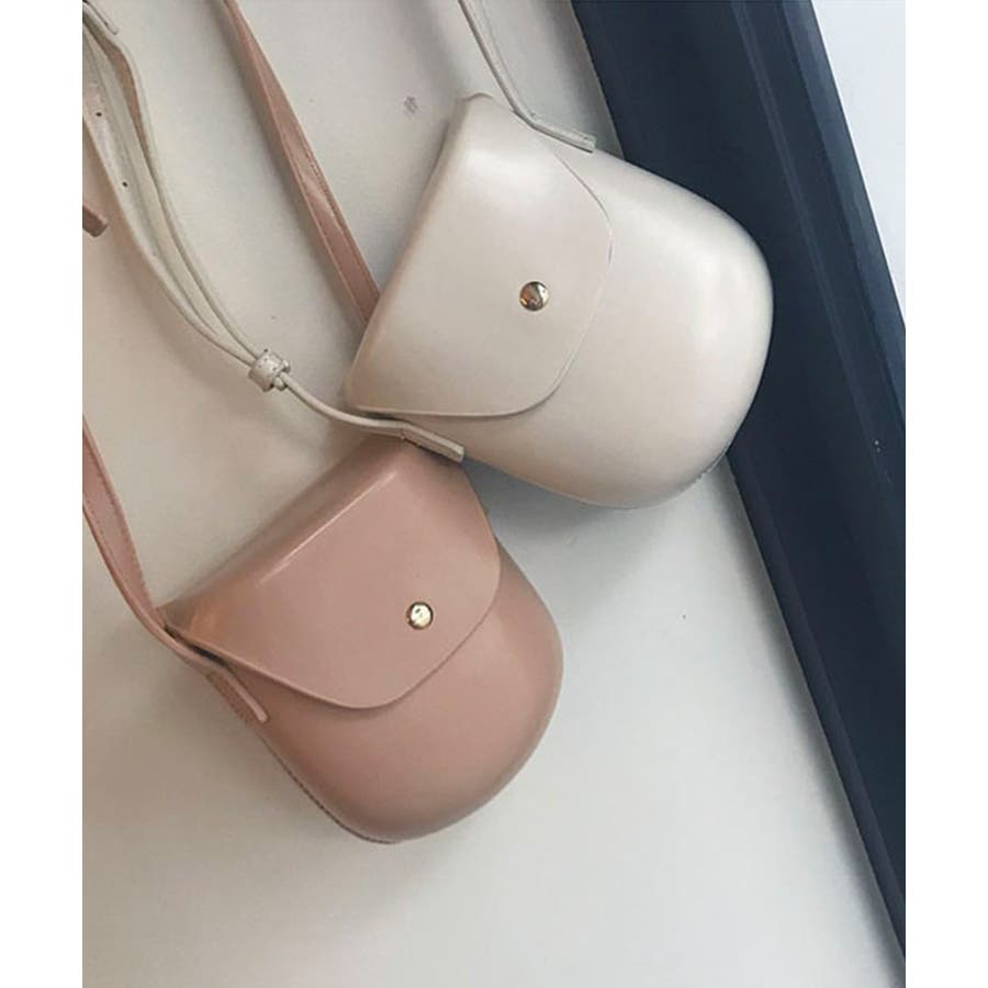 秋新作 レザー調ミニポシェット バッグ 鞄 ショルダー ポシェット レザー調 シンプル レディース 韓国ファッション 3